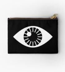 Eyes Wide Open - on Black Studio Pouch