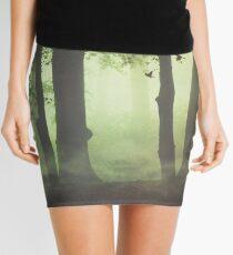 Wispy Forest Mists Mini Skirt