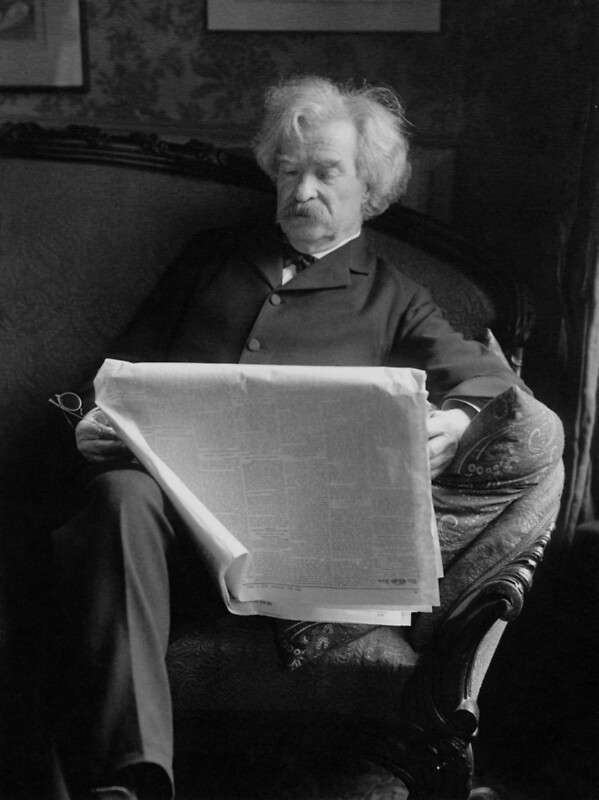 the life and work of mark twain an american author He soon became a sort of itinerant printer and found work in a number of american him with the pen name mark twain twain's personal life began to.