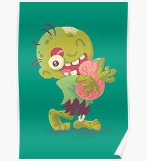 Zombie Hugs Poster