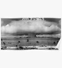 Atomwaffentest - Bikini Atoll Poster