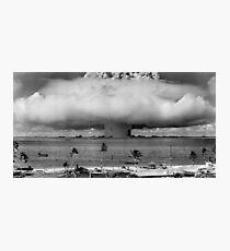 Nuclear Weapon Test - Bikini Atoll  Photographic Print
