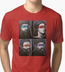 NINJA TURTLES RENAISSANCE Tri-blend T-Shirt