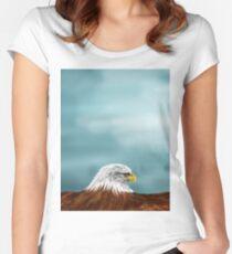 Eagle Tailliertes Rundhals-Shirt