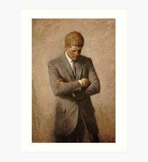 John F. Kennedy Painting  Art Print