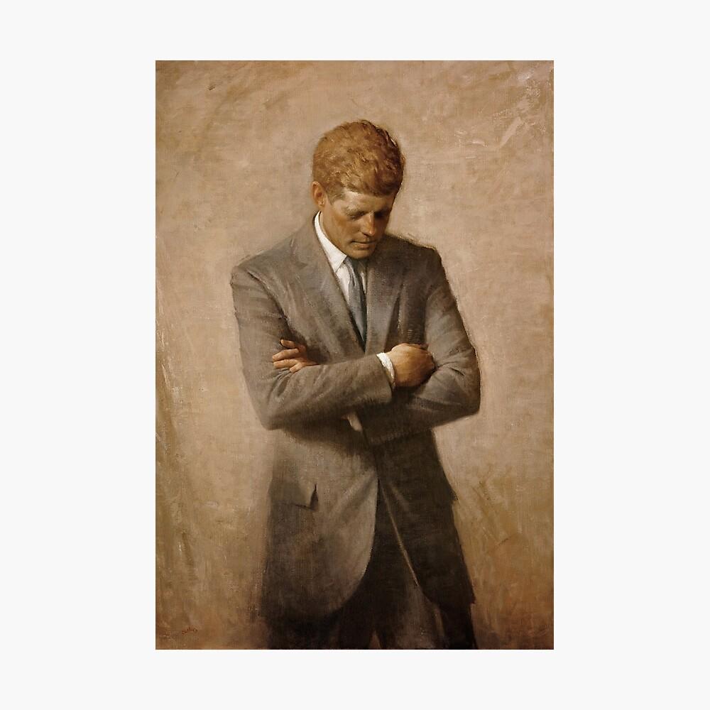 John F. Kennedy-Malerei Fotodruck