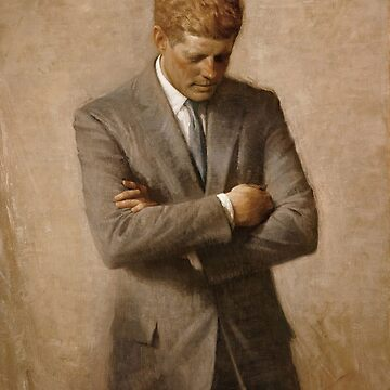 John F. Kennedy-Malerei von warishellstore