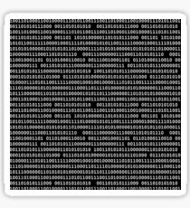 Binary Sticker