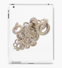 Gold Rings Cluster iPad Case/Skin