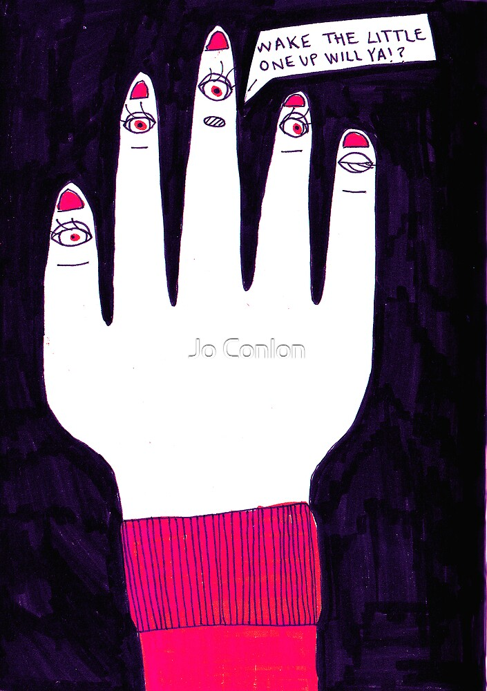 Little Finger's gone to sleep by Jo Conlon