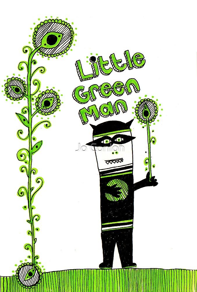 Little Green Man by Jo Conlon