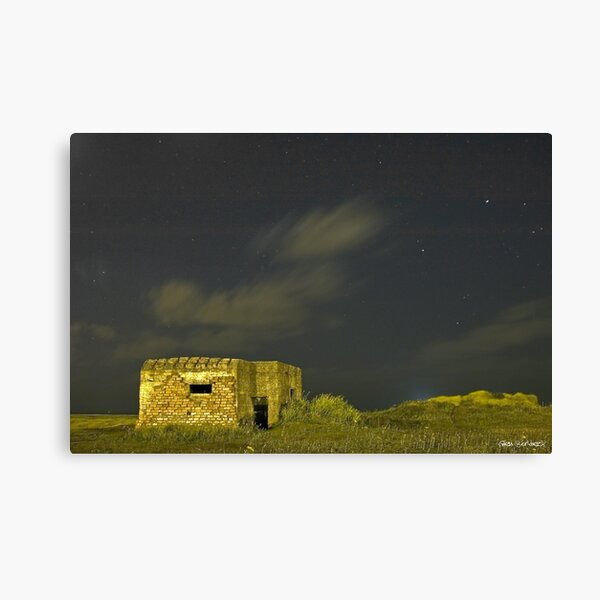 Last outpost at the edge of the universe Canvas Print