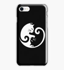 Yin Yang Cat iPhone Case/Skin