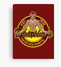 Martial arts academy Canvas Print