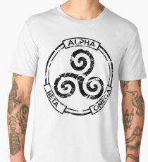 Alpha Beta Omega (Black) - Teen Wolf Men's Premium T-Shirt