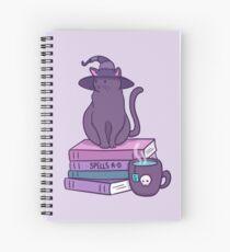 Cuaderno de espiral Felino familiar