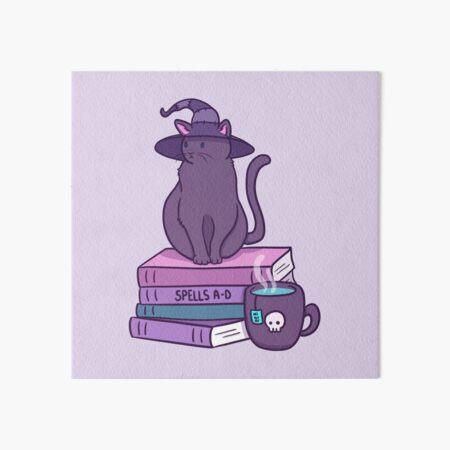 Feline Familiar | Nikury Art Board Print