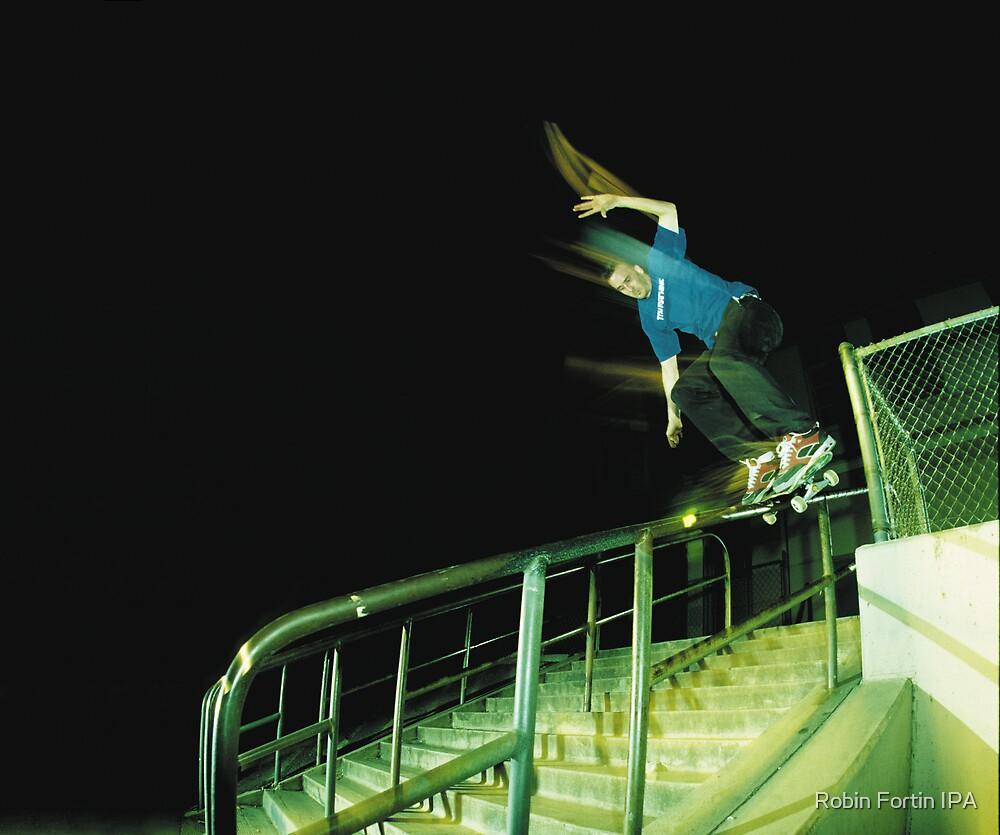 Psychadelic Night Skateboarding by Robin Fortin IPA