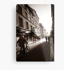 Rue Mouffetard Metal Print