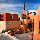 Foinikia village - Santorini island by Hercules Milas