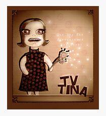 TV Tina Photographic Print