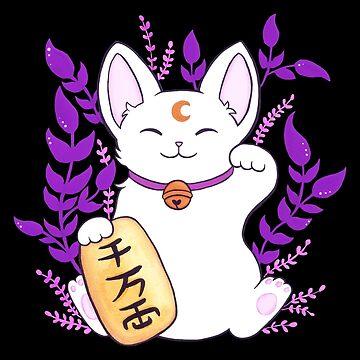 Plant Maneki Neko by nikury