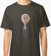 Larry David Curb Your Enthusiasm Inspired Illustration Classic T-Shirt