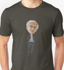 Larry David Curb Your Enthusiasm Inspired Illustration Unisex T-Shirt