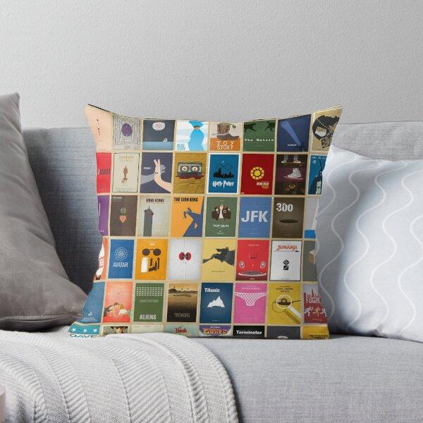 Movies Posters minimal Throw Pillow