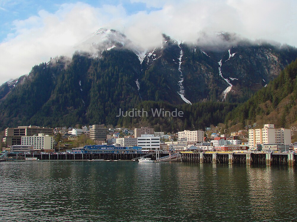 Leaving Juneau by Judith Winde
