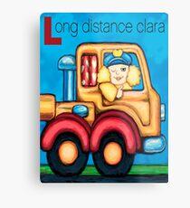 Long Distance Clara Metal Print