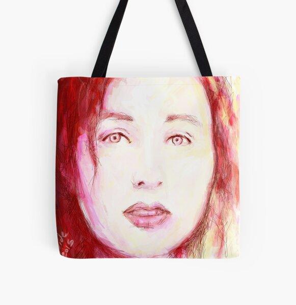 Tori All Over Print Tote Bag