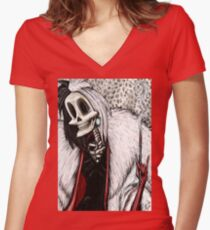 The Pet Lover Women's Fitted V-Neck T-Shirt