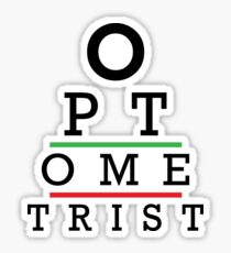 Awesome Optometrist Design - Optometry Optician Gift Sticker