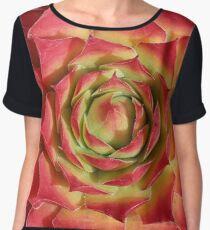 Sempervivum Gold Nugget Women's Chiffon Top