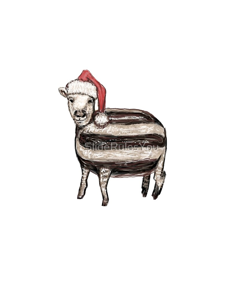 Baa Humbug by SlideRulesYou
