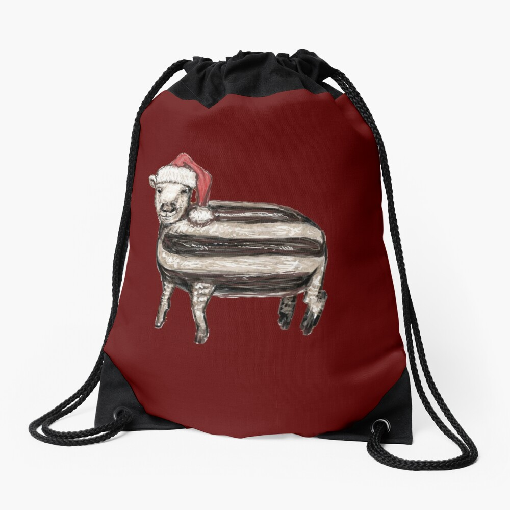 Baa Humbug Drawstring Bag