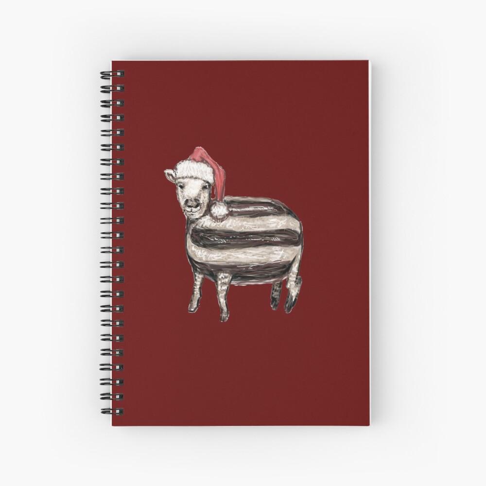 Baa Humbug Spiral Notebook