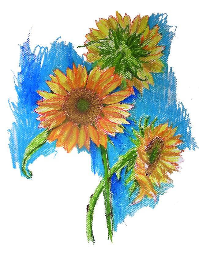 Sunflowers by bornartiste