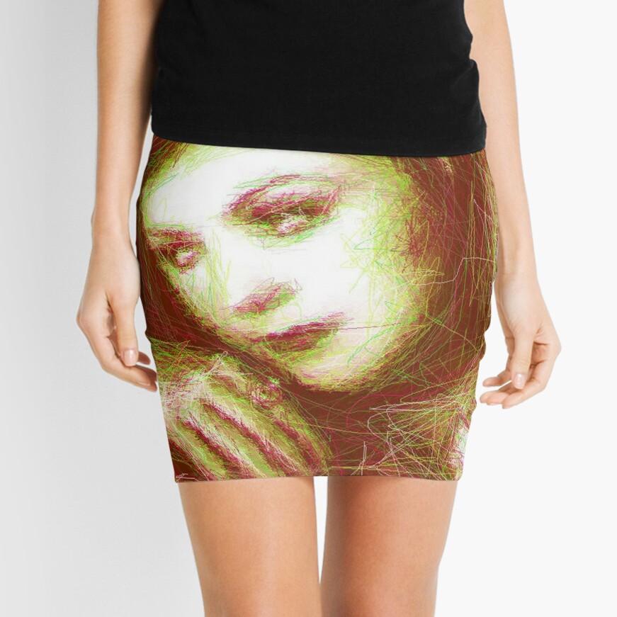 ScribbleKirsty Mini Skirt