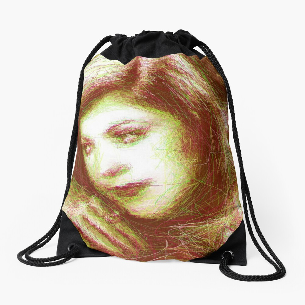 ScribbleKirsty Drawstring Bag