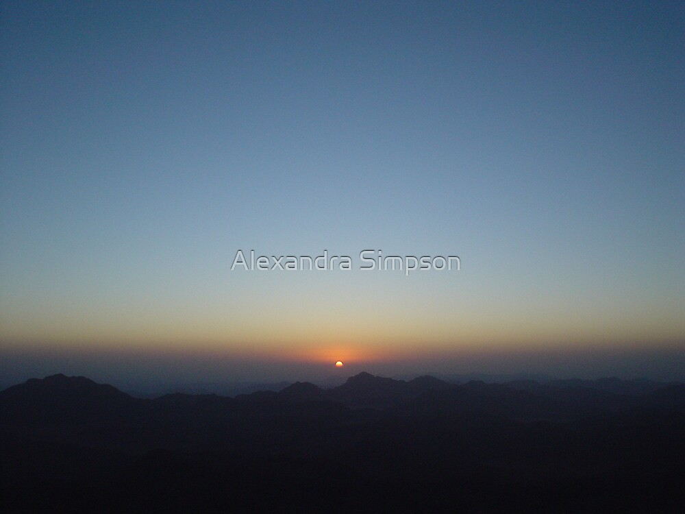 Mount Sinai by Alex Simpson