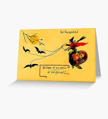 Hallowe'en Greeting Card