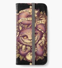 CHESHIRE CAT iPhone Wallet/Case/Skin