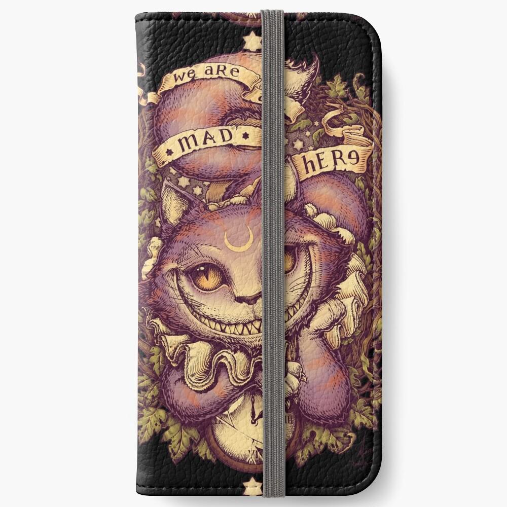 CHESHIRE KATZE iPhone Flip-Case