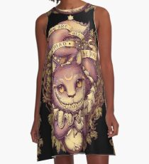 CHESHIRE CAT A-Line Dress