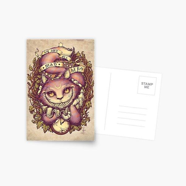 CHESHIRE CAT Postcard