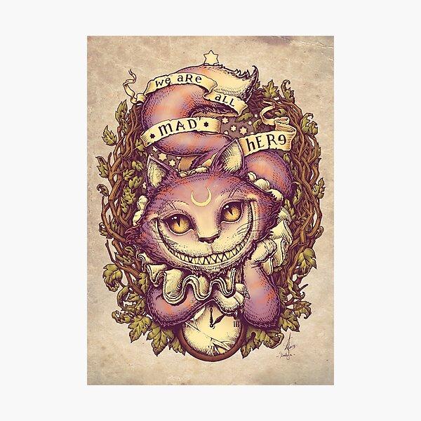 CHESHIRE CAT Photographic Print