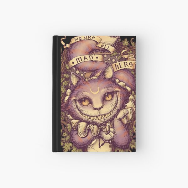 mit Cheshire Cat Notizbuch