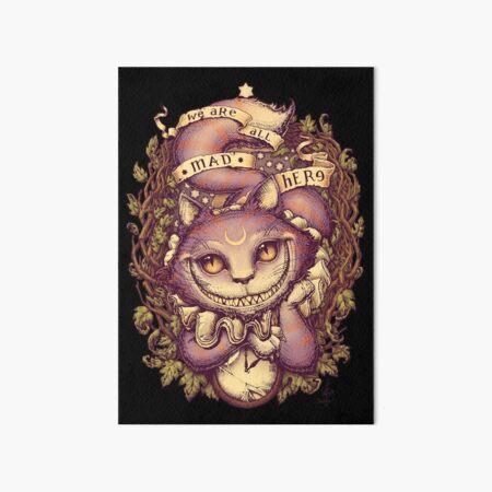 CHESHIRE CAT Art Board Print